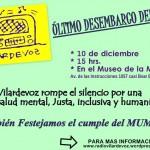 Afiche Vilardevoz desembarca en el MuMe