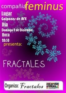 Afiche Fractales en los Galpones