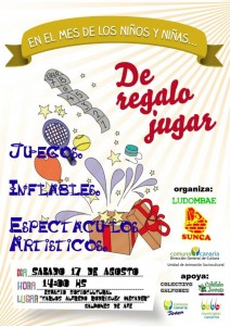 SUNCA-DeRegaloJugar-Afiche