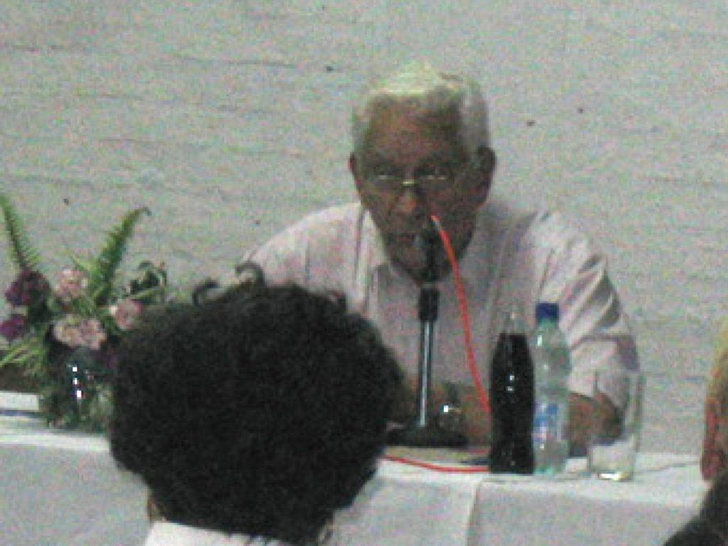 Foto: Guillermo Chifflet en Santa Lucía el 20/12/2005